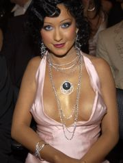 Christina AguileraThe 46th Annual GRAMMY Awards - Backstage and AudienceStaples CenterLos Angeles, California United StatesFebruary 8, 2004Photo by Kevin Mazur/WireImage.comTo license this image (2178496), contact WireImage:+1 212-686-8900 (tel)+1 212-686-8901 (fax)st@wireimage.com (e-mail)www.wireimage.com (web site)