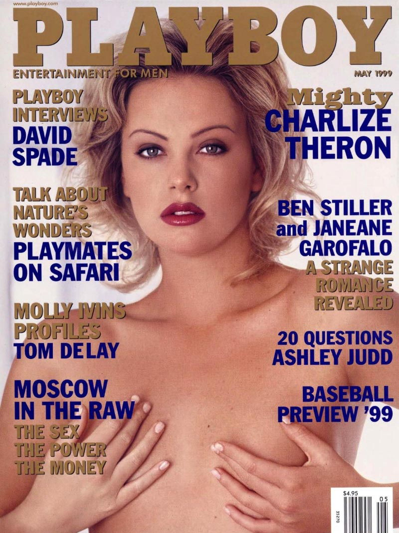 Charlize theron playboy — pic 1